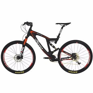 BEIOU Carbon Mountain Bike - best full-suspension bike under 1500